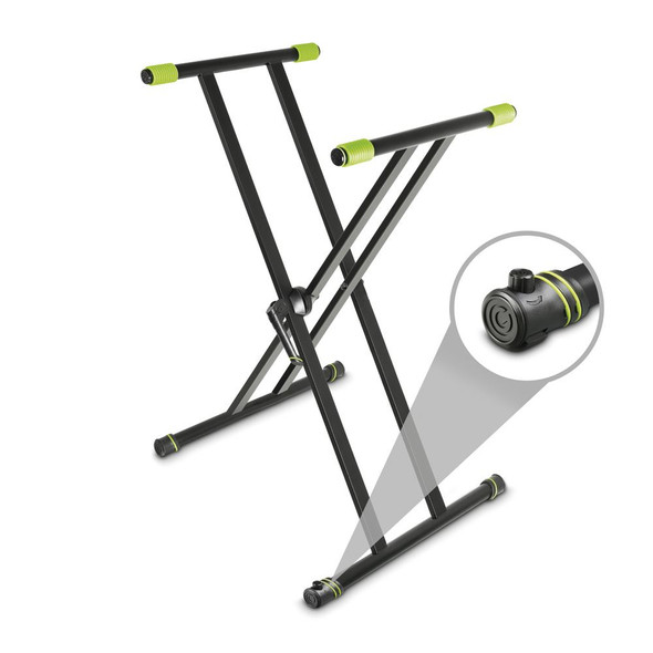 Gravity KSX 2 - Keyboard Stand X-Form double black