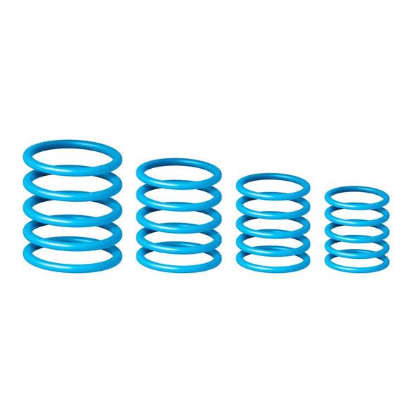 Gravity RP 5555 BLU 1 - Universal Gravity Ring Pack, Deep Sky Blue