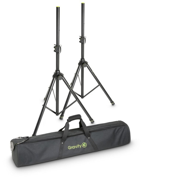 Gravity SS 5211 B SET 1 - Set of 2 Speaker Stands with Bag