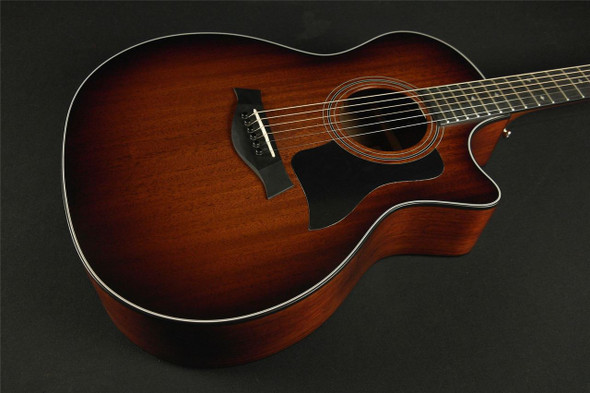 Taylor 324ce Grand Auditorium Cutaway Acoustic/Electric - Shaded Edgeburst (100)