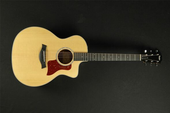 Talyor 214CE-FS Figured Deluxe - Natural (404)