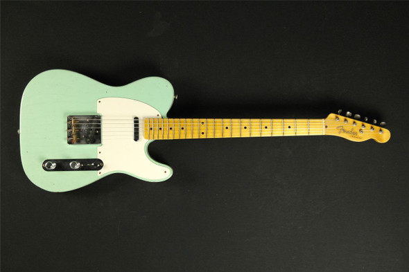 Fender Custom Shop '50s Telecaster Journeyman Relic Aged Surf Green Masterbuilt by Yuriy Shishkov!!!!