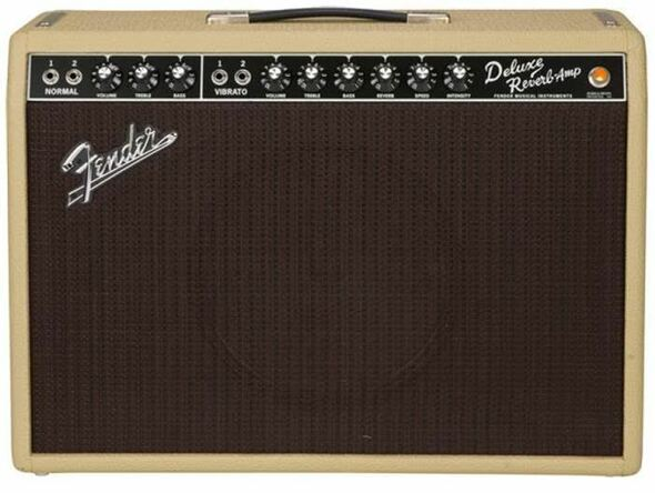 Fender NEW! Limited Edition '65 Deluxe Reverb Tan/Oxblood Weber Alnico