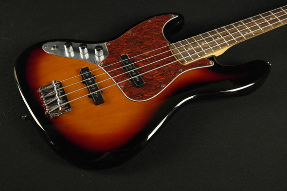 Squier Vintage Modified Jazz Bass Left-Handed - Rosewood Fingerboard - 3-Color Sunburst (636)