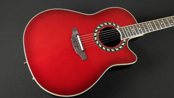 Ovation Legend 2077AX Acoustic/Electric - Cherry Burst (911)