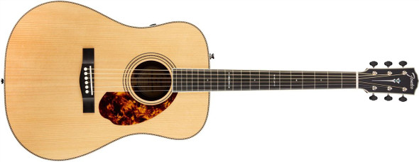 Fender PM-1 Limited Adirondack Dreadnought Rosewood with Case - Natural - Natural