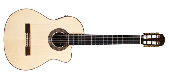 Cordoba Espana Series 55FCE Negra Ziricote Electric Acoustic Nylon String Guitar