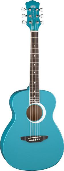 LUNA Aurora Borealis 3/4 Guitar Teal