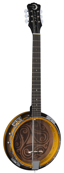 LUNA Banjo Celtic 6-String