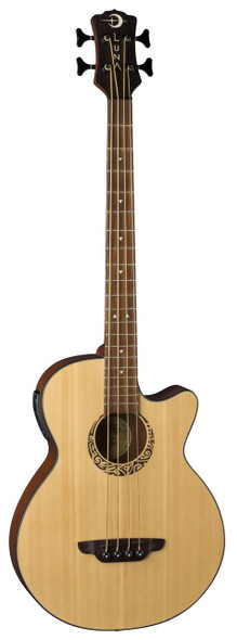 LUNA Tribal Acoustic/Electric Bass 30 Inch