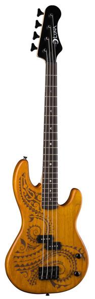 LUNA Tattoo Electric Bass 30 Inch Scale