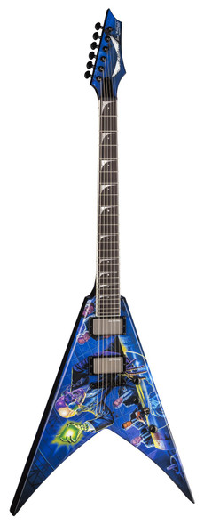 Dean V Dave Mustaine - Rust In Peace w/Case