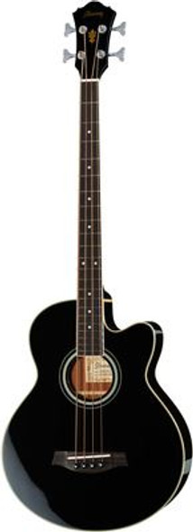 Ibanez AEB8E-BK ELECTRIC ACOUSTIC  BASS GUITAR