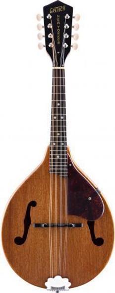 "Gretsch G9310 New Yorker ""Supreme"" A-Style Mandolin Solid Mahogany Top/Back/Sides - Vintage Mahogany Stain(Refurbished)"