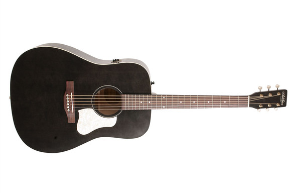 Art & Lutherie Americana Dreadnought -  Faded Black QIT