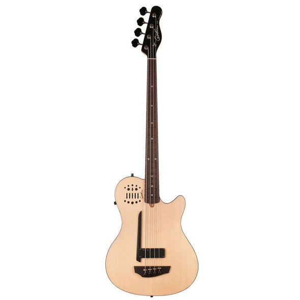 Godin A4 Ultra Natural SG Fretted Rosewood Neck Synth Access Includes VBGAB Gig Bag - 33652
