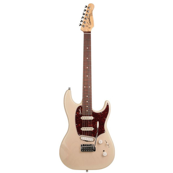 Godin Progression Plus with High Definition Revoicer High Gloss Rosewood Neck - Trans Cream Includes VBGSE Gig Bag - 40858