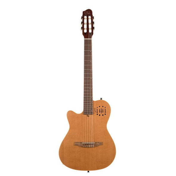 Godin MultiAC Nylon Encore Semi-Gloss Left-Handed - Natural Includes VBGAC Gig Bag - 35878