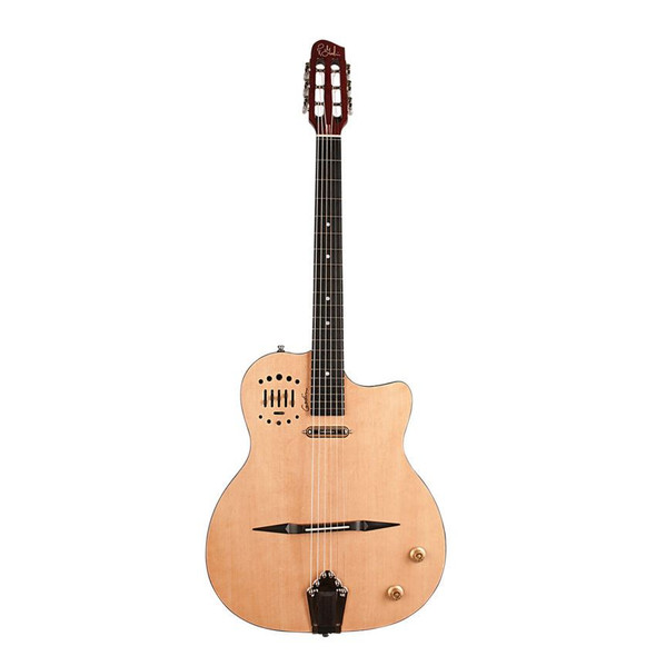 Godin MultiACc Gypsy Jazz High-Gloss - Natural Includes Deluxe TRIC Case - 47109