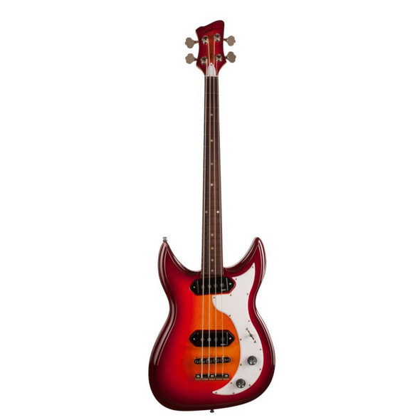 Godin Dorchester 4 String Solid Body Bass Rosewood Neck - Cherry Burst Includes VBGBG Gig Bag - 42685