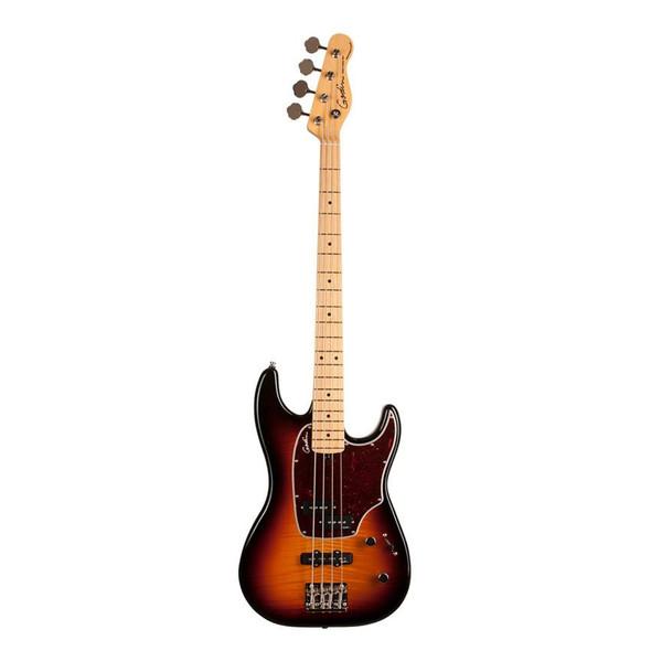 Godin Shifter Classic 4 String Solid Body Bass High Gloss Maple - Vintage Burst Includes VBGBG Gig Bag - 46928