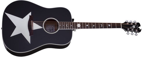 Schecter RS-1000 STAGE ACOUSTIC GLOSS BLACK 282-SHC