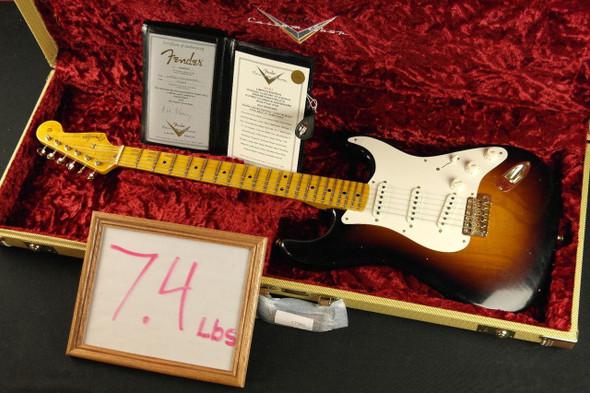 Fender Custom Shop Limited Edition Vintage Custom 1957 Stratocaster - Wide Fade 2-Tone Sunburst (918)
