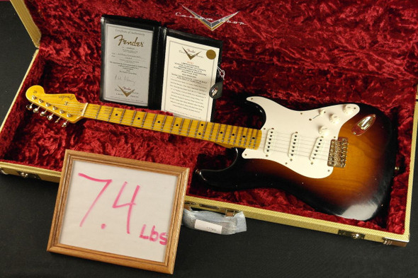 Fender Custom Shop Limited Edition Vintage Custom 1957 Stratocaster - Wide Fade 2-Tone Sunburst (918)