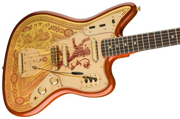 Fender Custom Shop Game of Thrones House Lannister  - Jaguar 9216080062