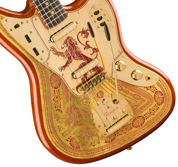 Fender Custom Shop Game of Thrones House Lannister  - Jaguar 9216080062