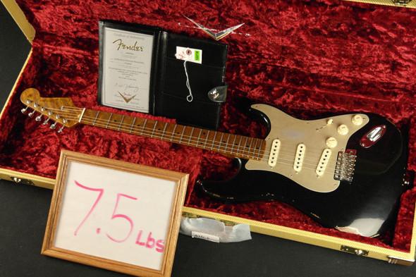 Fender Custom Shop LTD NAMM '56 Stratocaster Roasted Relic Neck - Aged Black (956)