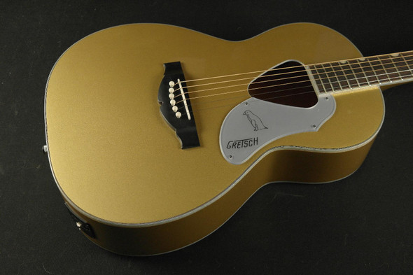 Gretsch G5021E Limited Edition Rancher Penguin Parlor - Rosewood Fingerboard - Casino Gold (591)