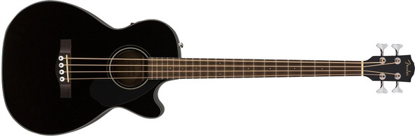 Fender CB-60SCE Bass - Laurel Fingerboard - Black