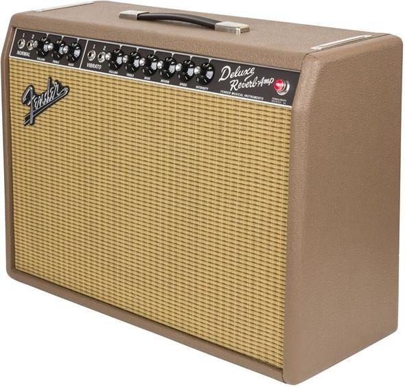Fender 65 Deluxe Reverb Fudge Brownie - 120V
