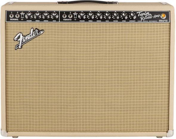 Fender Limited Edition Blonde '65 Twin Reverb - 120V