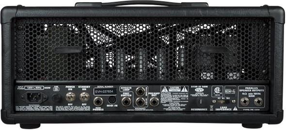 EVH 5150III 50W 6L6 Head - Black - 120V (2253010010)