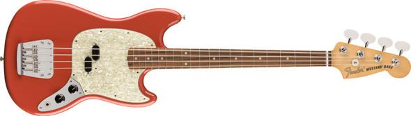 Fender Vintera '60s Mustang Bass - Pau Ferro Fingerboard - Fiesta Red
