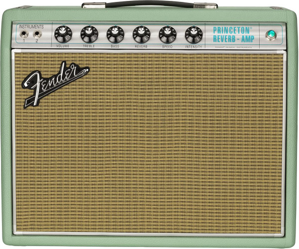 Fender 2019 Limited Edition '68 Princeton Reverb - G10 Speaker - Surf Green - 120V