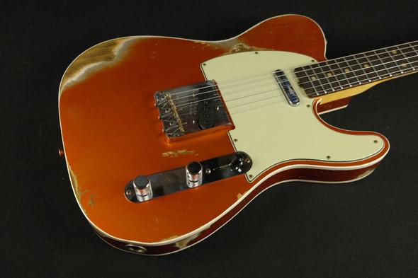 Fender Custom Shop Custom 1961 Telecaster Custom Heavy Relic - Candy Tangerine (505)