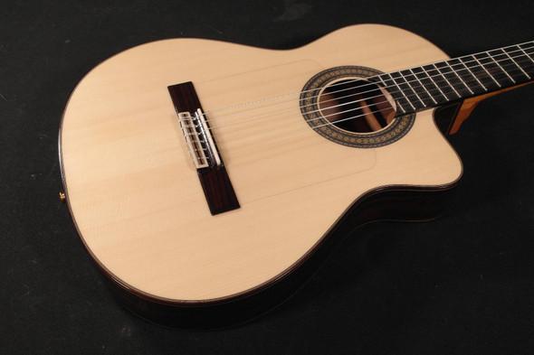 Cordoba Espana Series 55FCE Negra Ziricote Electric Acoustic Nylon String Guitar (235)