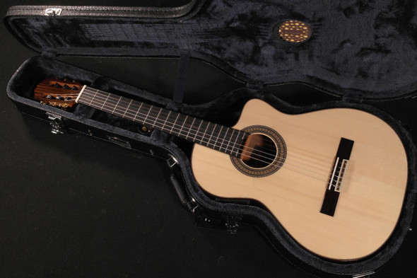 Cordoba Espana Series 55FCE Negra Ziricote Electric Acoustic Nylon String Guitar (235)