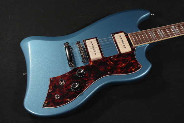 Guild T-Bird ST with SB-1F Blue with Bigsby (708)
