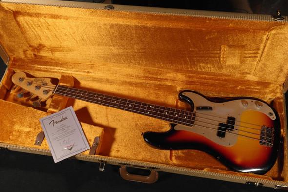 Fender Custom Shop 1959 Precision Bass Journeyman Relic - Rosewood Fingerboard - 2-Tone Sunburst