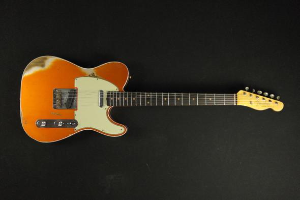 Fender Custom Shop Custom 1961 Telecaster Custom Heavy Relic - Candy Tangerine (795)