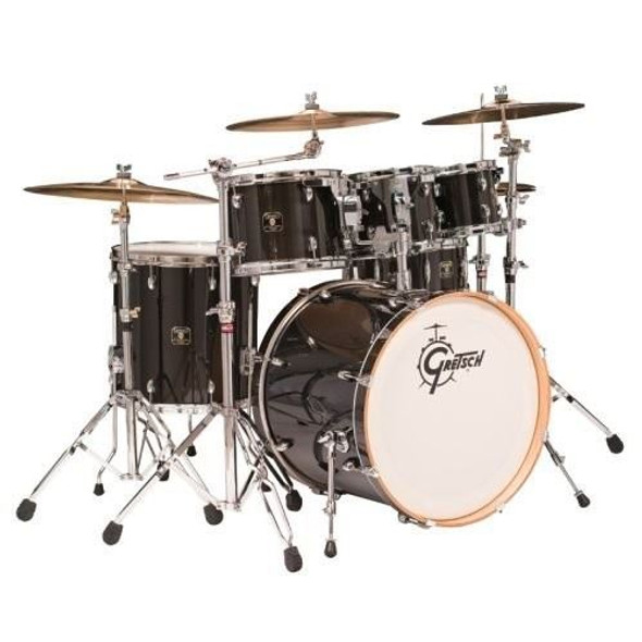 PC - Gretsch Catalina Maple 5 Piece Kit - Trans Ebony