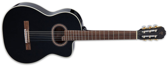 Takamine GC6CE-BLK G-Series Classical Acoustic Guitar- Black