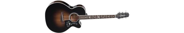 Takamine EF450C-TT-TBB Thermal Top Series Acoustic/Electric Guitar
