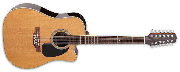 Takamine EF400SC-TT Thermal Top 12-String Pro Series Acoustic/Electric Guitar