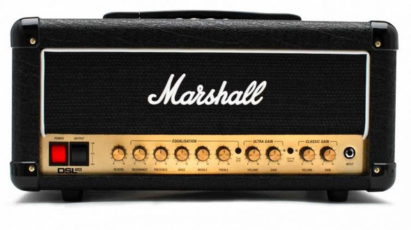 Marshall DSL20HR 20W Valve Head (Switchable to 10W) 2 Channels