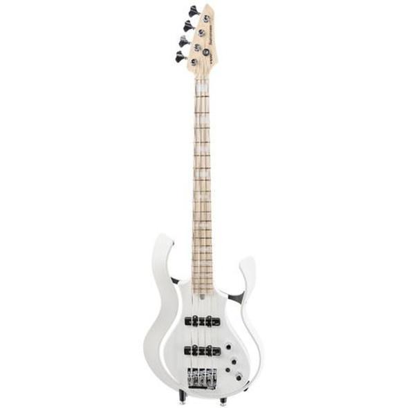 Vox VSBAA2SWHPW Artist StarStream Modelling Active Bass, Pearl White